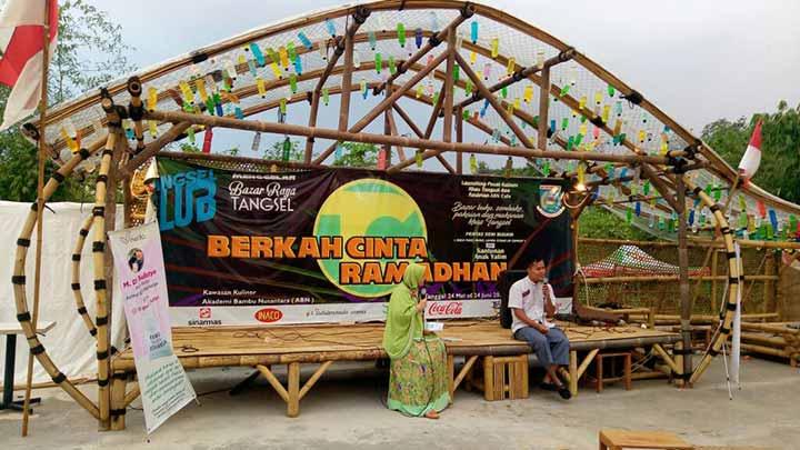 Ngabuburit Bareng M. Dani Sulistyo, Buku Kamu Begitu Berharga  di Akademi Bambu Nusantara