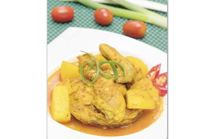 resep ayam kari